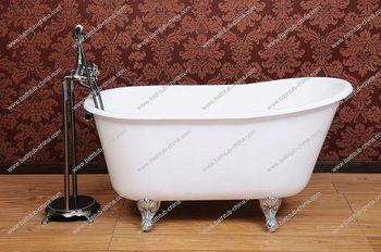 Coloured bath tubs on gold legs high end bath furniture for Coloured free standing bath