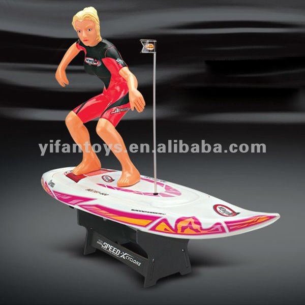 757-600 1:8 Radio Remote Control RC surfing boat rc surfer RC Surfer boat for sale