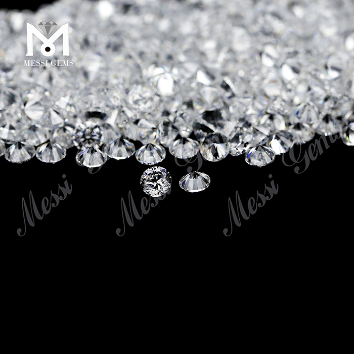 3A grade 2.75mm colorless stones wuzhou cubic zirconia for wax setting