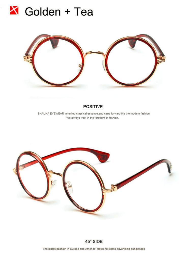 eea030d2223 Classic Women Circling Glasses Brand Designer Vintage Lady Elegant Myopia Glasses  Frames Super Round Eyewear