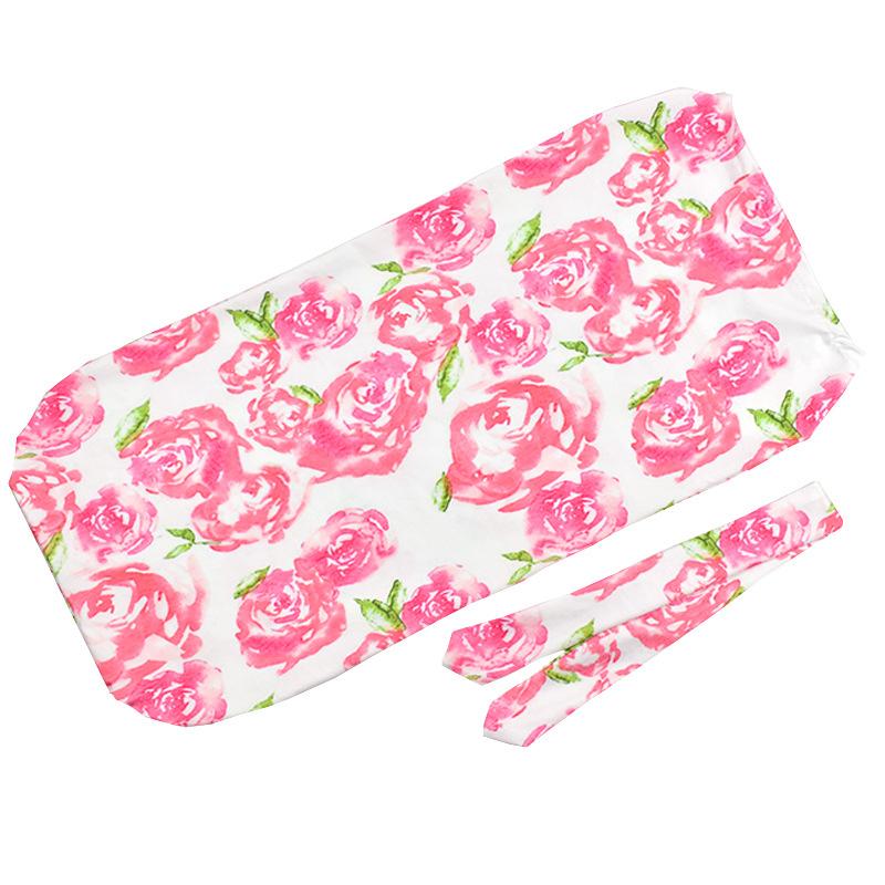Babyschlafsäcke Stirnband 2 Pcs 2019 Neue Neugeborenen Baby Rose Swaddle Decke Schlafen Swaddle Musselin Wrap Nachtwäsche & Nachthemden