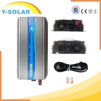 1000W Solar Power Inverter Pure Sine Wave for Home use 10.5-28VDC 90-140VAC