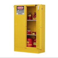 30gal flammable safety cabinet laboratory chemical storage cabinet