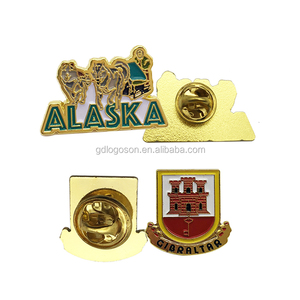 Wholesale Cheap Metal Badge Factory Direct Price Custom Metal Pin Badges