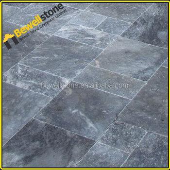 30x30x1cm Living Room Blue Marble Floor Tile