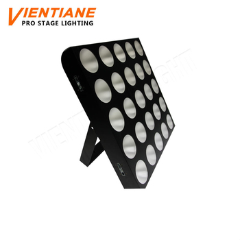 Disco Stage Light 5x5 Blinder Light 25pcs 10w Rgb 5x5 Led Dmx Matrix  Light