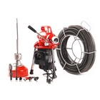 Jingri industrial electric sewer snake pipe drain cleaning machine