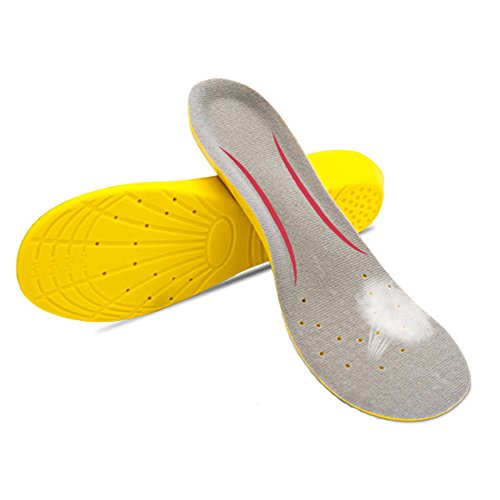 1545a79fd4 Get Quotations · Sports Comfort Shoe insoles Breathable Arch Support shoe  insole for Men and Women - Orthotics Inserts
