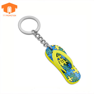 Floating key chain 3d shoe keychain