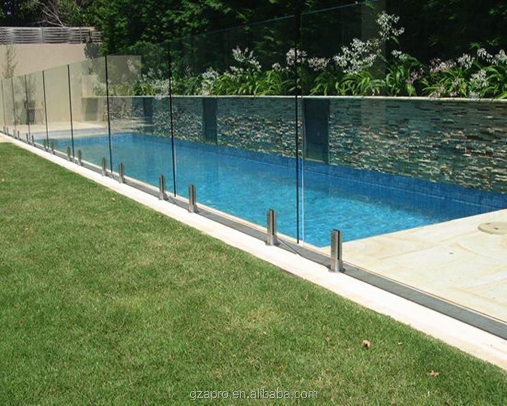 Cubierta de barandilla de vidrio para piscina barandillas for Barandilla piscina