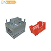 Plastic crates for fruits and vegetables mould wholesale