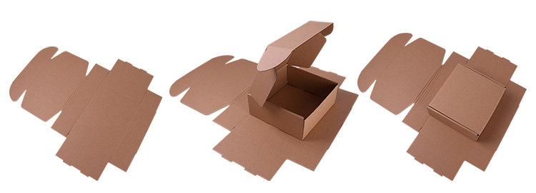Take Away Food Packing Box Corrugated Delivery Box