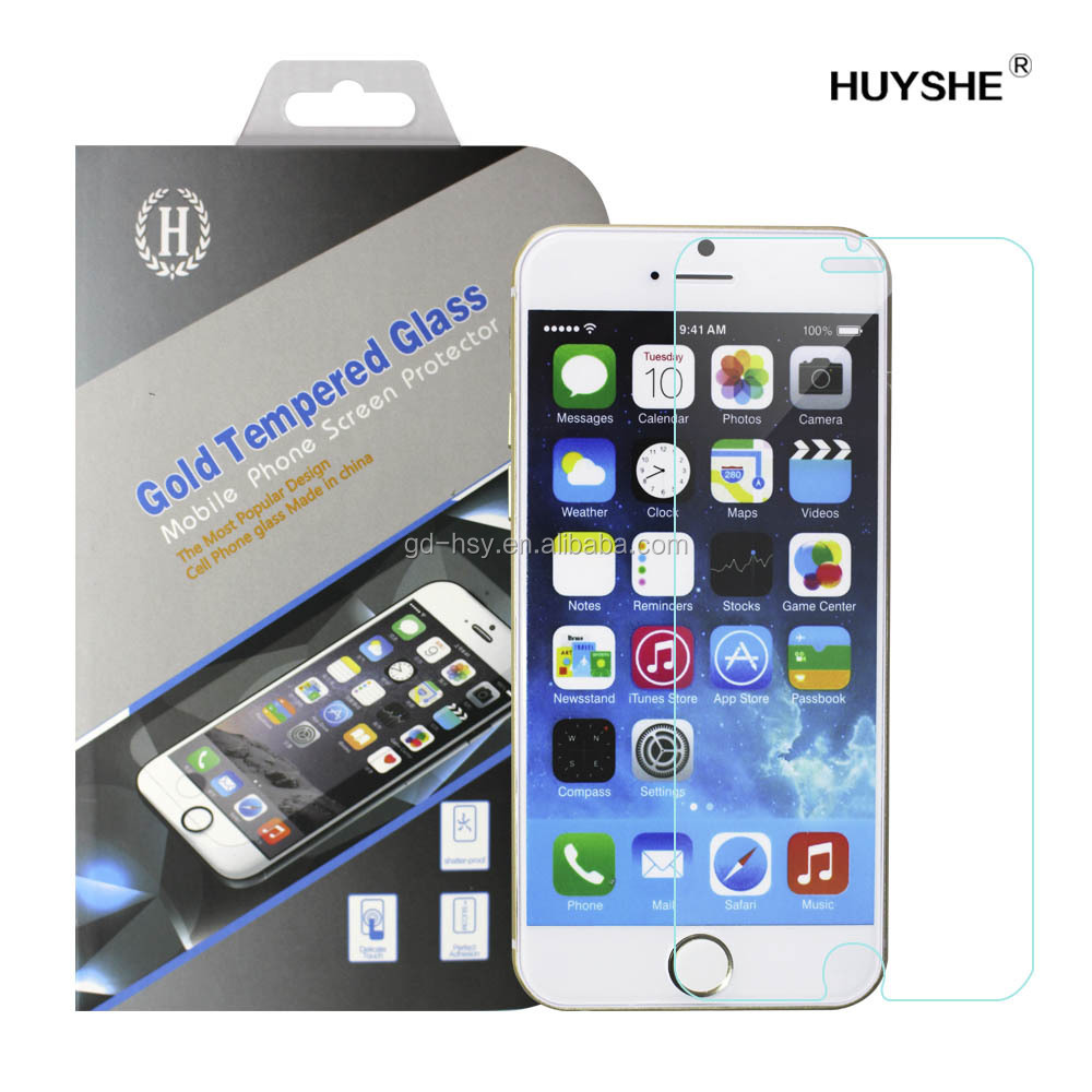 For Apple iPhone 7 New Product Cell Phone Accessories 0.33mm Tempered Asahi Glass Screen Protector Film for iPhone7 7Plus 7Pro