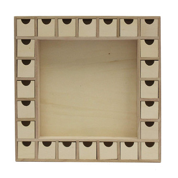 Unfinished Wooden Advent Calendar With Drawers Buy