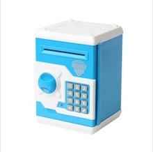 plastic money safes for kids,saving money bank with lock
