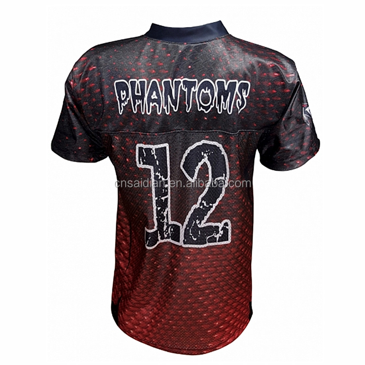 Customized Sublimation American Training Youth Flag Football Jersey  Wholesale Soccer Uniforms 157daa144