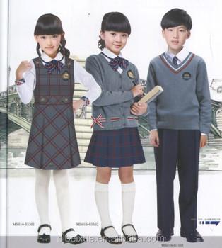 Custom School Uniforms Girls School Skirt School Uniform Design