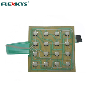 4*4 Matrix Array 16 Key Metal Dome Tactile Membrane Switch Keypad Keyboard