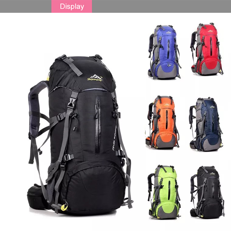 Wholesale durable waterproof outdoor 38L camping hiking backpack china