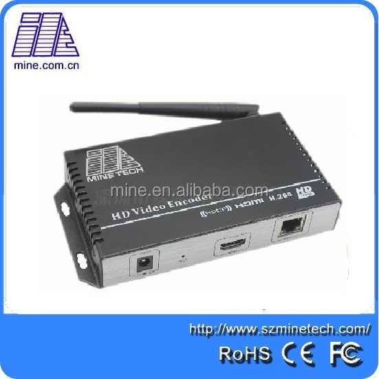 HDMI To RF Modulator 1080P Ip Streaming Encoder With Wifi For Video Live Streaming