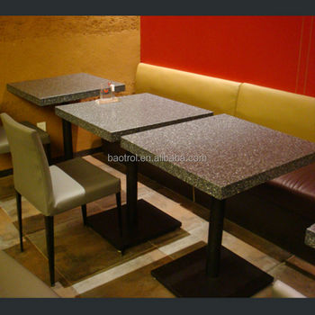 Reasonable Price Artificial Marble Table Topsrestaurant Table And - Restaurant table price