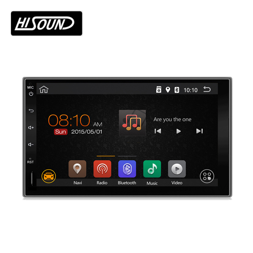 "High quality 2din car stereo radio player gps bluetooth wifi 3g car dvd 7"" universal"
