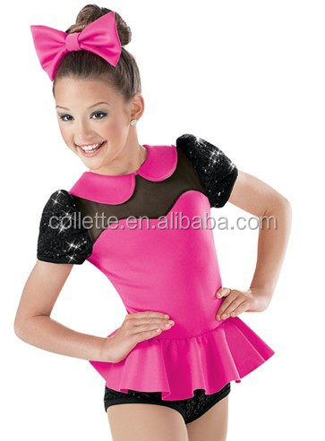 New Arrivel Hot Pink Cute Tiered Fluffy Puffy Tank