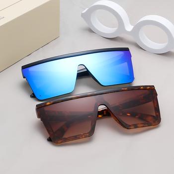 5c0c8a78b133 Custom Logo Wholesale Oversized Shades Sunglasses 2019 Trendy Fashionable  Brand Designer Women SunglassesMOQ: 2 Pieces$2.32 - $4.46 /Piece