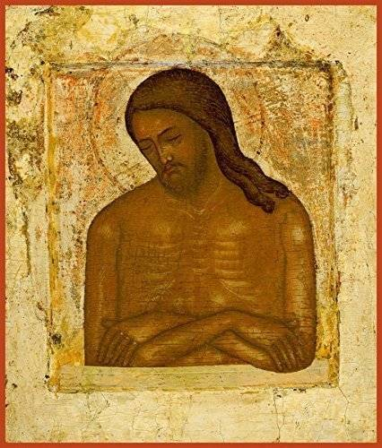 "Christ ""Extreme Humility"" Russian Orthodox icon"