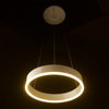 Interior Decorative Lighting Circular Aluminum Modern Simple Acrylic Aluminum Led Pendant Lighting for House