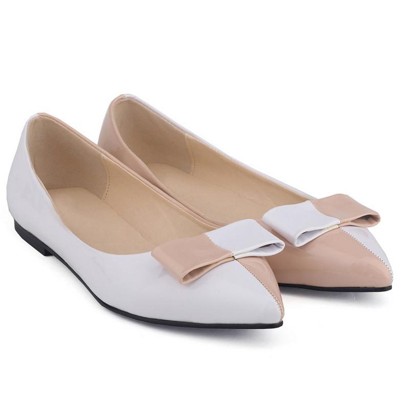 2017 Hot Sale New Design Oem Odm Ladies Leather Ballerina Flat ...