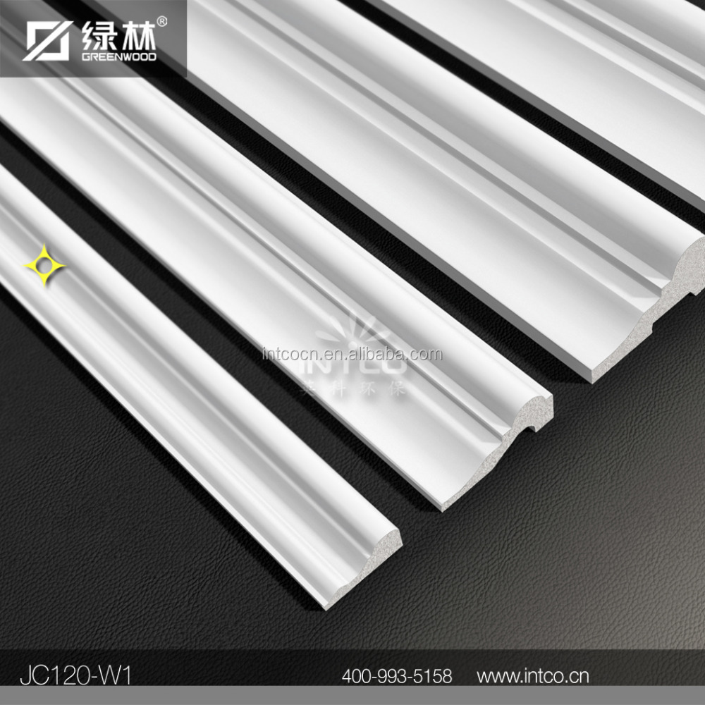 INTCO White Waterproof Decorative 3d Wall Panel