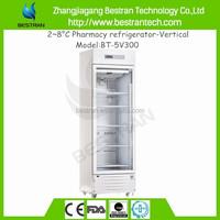 hospital equipments medical 2 to 8 degree 2 to 8 pharmacy refrigerator vaccine refrigerator