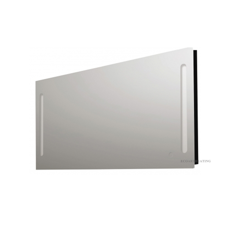 Heated Bathroom Mirrors With Lights: Heated Mirror With Light And Demister LED Illuminated