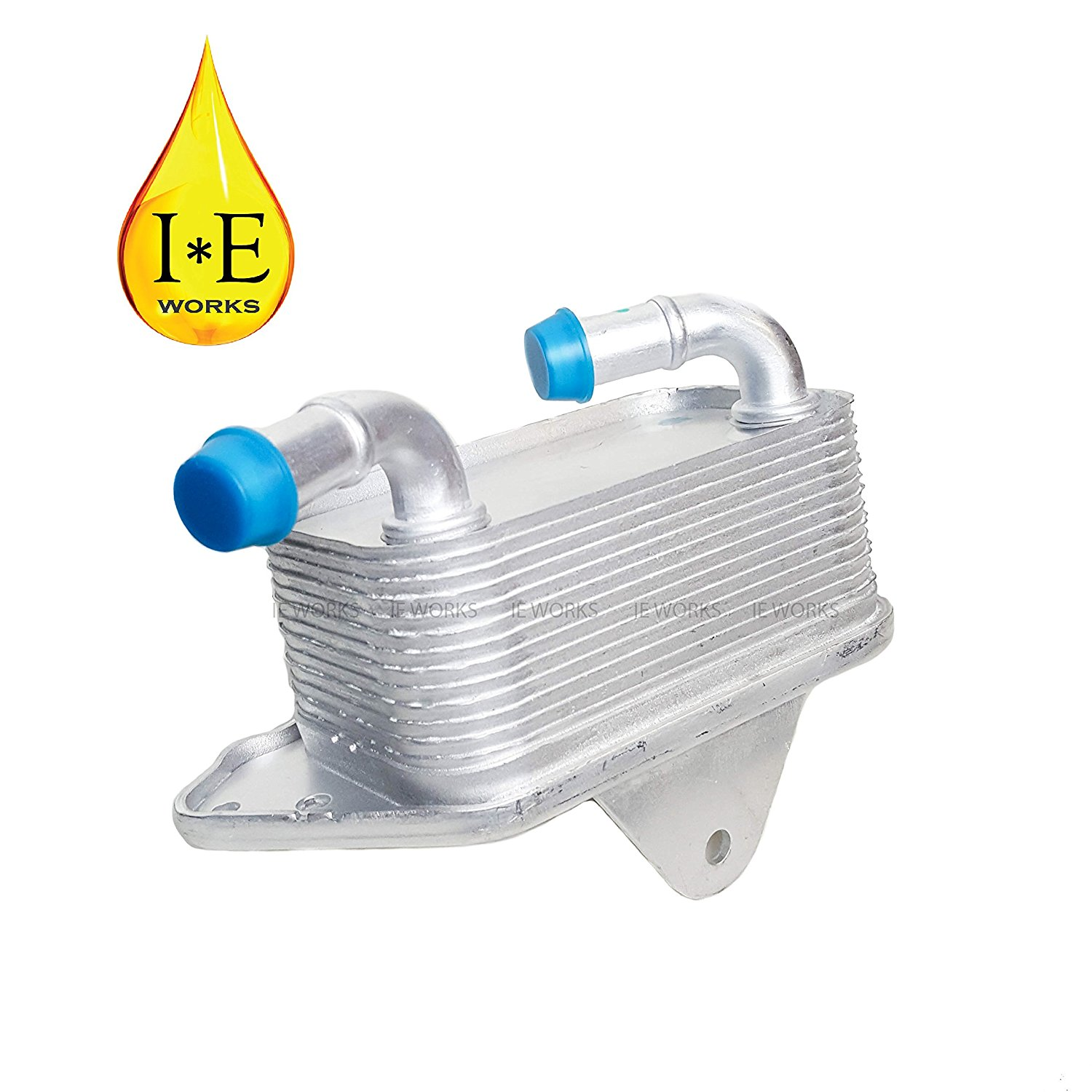 IE Works New Engine Oil Cooler for Audi VW A4 A6 A7 A8 Q5 Q7 S4 S5 Touareg 06E117021G 3.0 3.2
