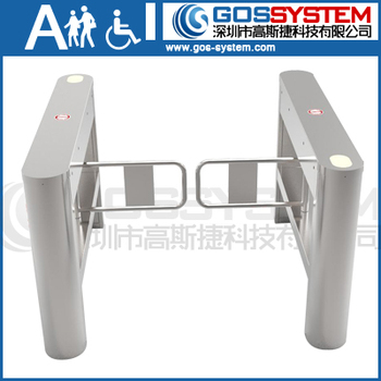 Electronic Control Indoor Security Gates For Office Buiding Entrance