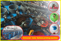 1 C full automatic four color balloon printing machine/screen printing machine for balloon