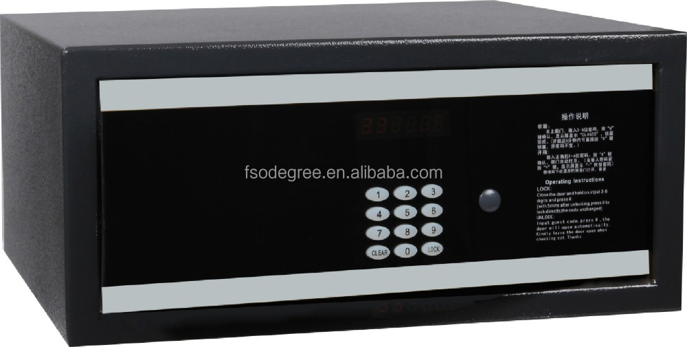 hotel safe with LCD display, hotel safe box, hotel room safe