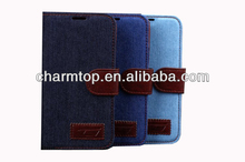 Jeans Leather Case for Samsung S5