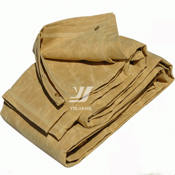 Waterproof Waxed Cotton Canvas Fabric