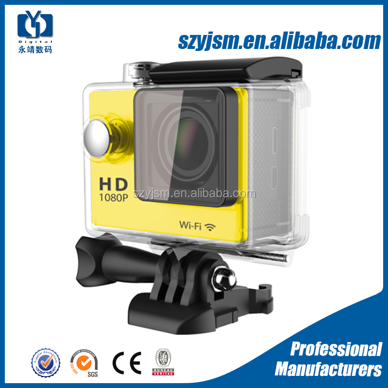 Best price Ultra 4K Wifi Action Camera 2inch display Sport Video Camera