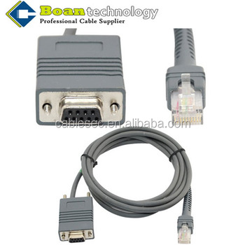2M 7Ft Symbol LS2208 RS232 RJ45 to_350x350 2m 7ft symbol ls2208 rs232 rj45 to db9 female barcode scanner  at virtualis.co