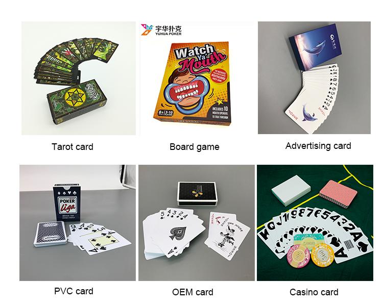 Teller Printing Casino Custom Design Maker Mini Houten Stuk Deel Board Game