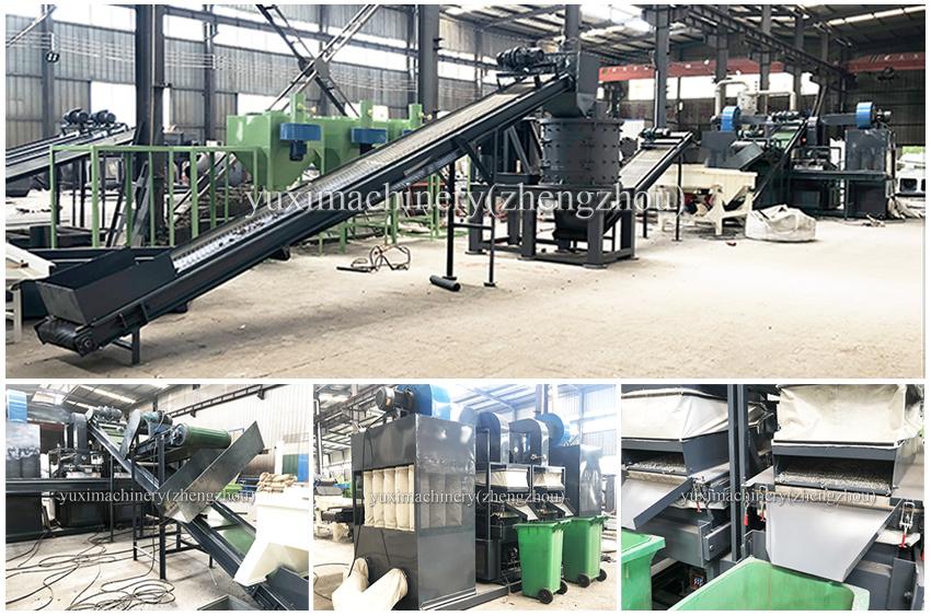 1000kg/h Scrap Ac Radiators Recycling Machine Separate