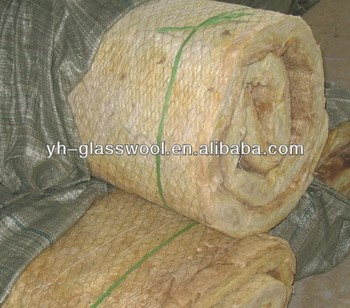 Rock wool insulation blanket wire mesh wall insulation for Rocks all insulation