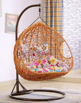 Large Luxury Indoor Two Seat Rattan Hanging Swing Chair Buy