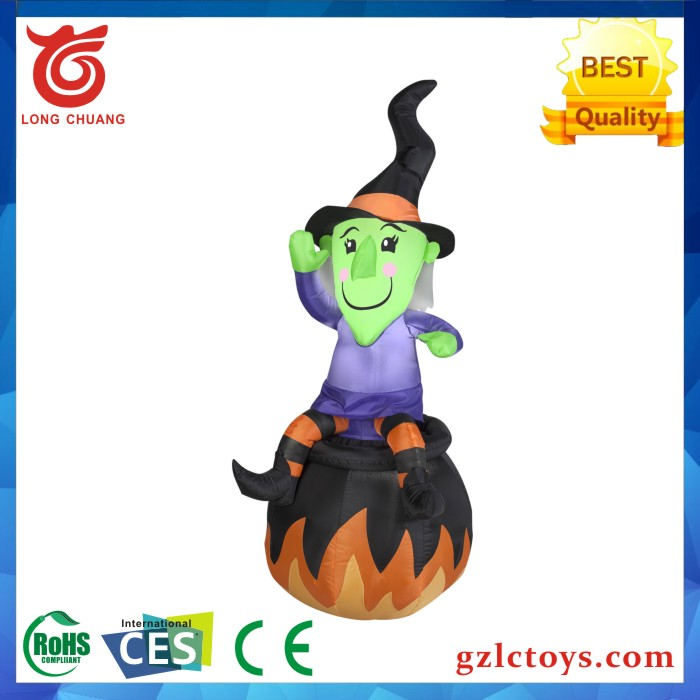 Inflatable halloween witch,halloween inflatable decoration