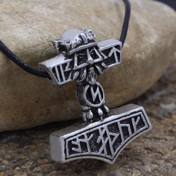 Factory Direct Wholesale Norse Vikings Thor's Hammer Knot And Sllavics  Amulet Pendant Necklace Nordic Talisman - Buy Talisman Jewelry,Viking  Talisman