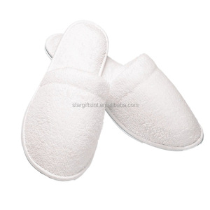 Cheap Eco Nature Cotton Towel Medical Hospital Slippers