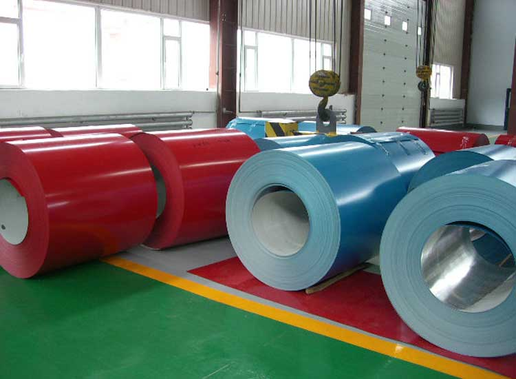 Good Gloss And Mechanical Properties Color Aluminum Coil
